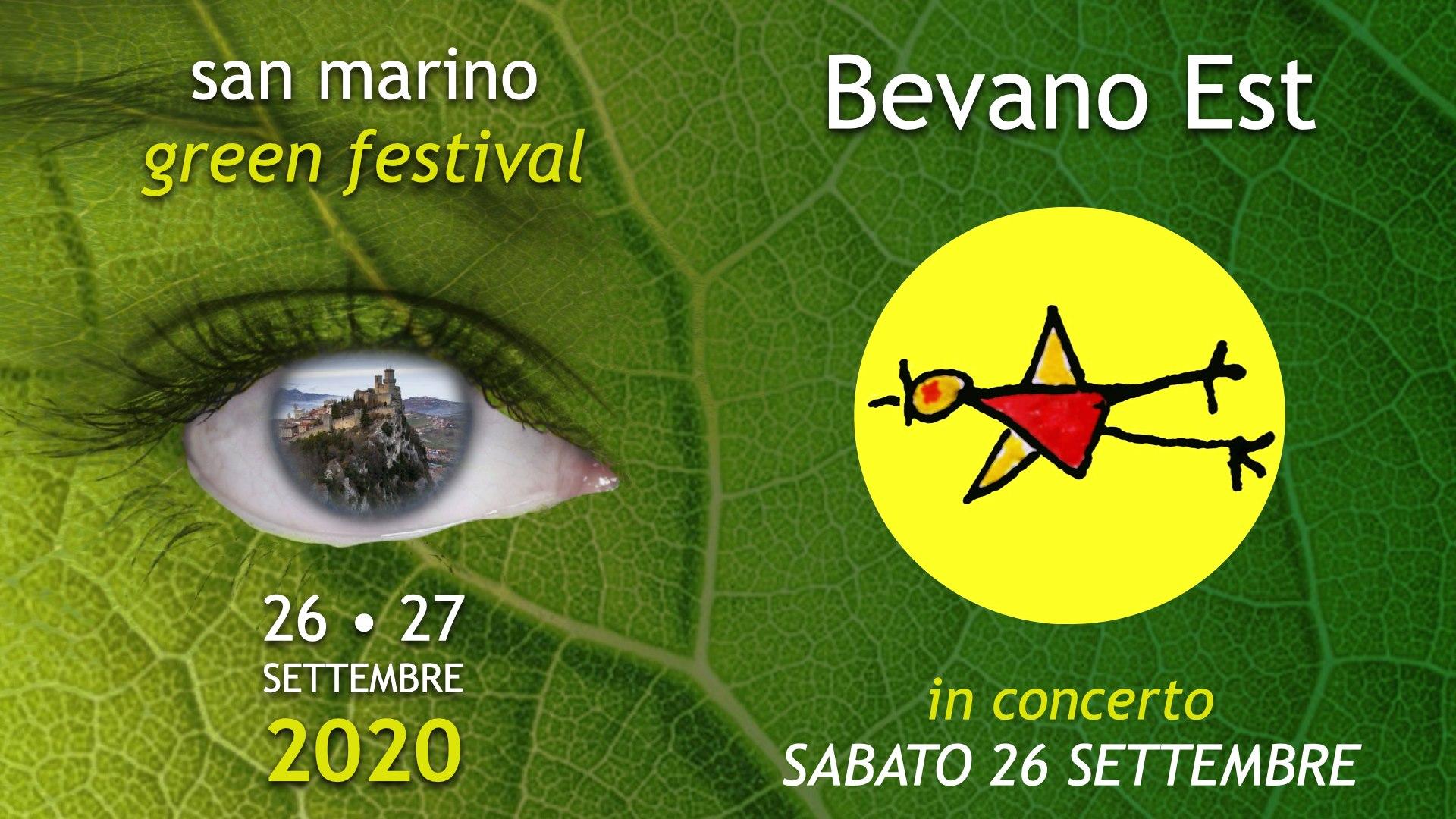 san marino, green festival 26 e 27 settembre 2020